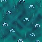 Dolphins by Julia Woodman