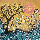 Enchanted Hummingbirds by Juli Cady Ryan