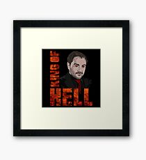 King of Hell Crowley (V.2) Framed Print