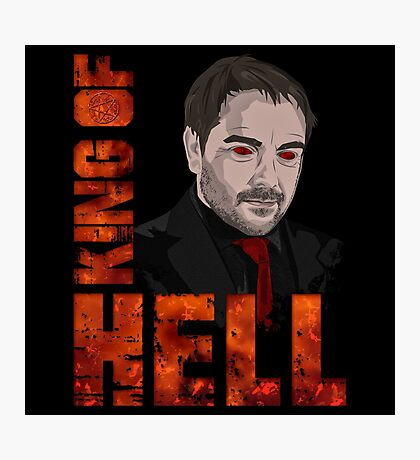 King of Hell Crowley (V.2) Photographic Print