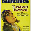 Vintage Hollywood Nostalgia The Dawn Patrol Film Movie Advertisement Poster by jnniepce