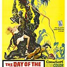 Vintage Hollywood Nostalgia The Day of the Triffids Sci-Fi Film Movie Advertisement Poster by jnniepce