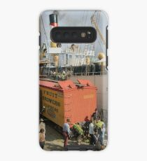 Unloading bananas from steamer, New Orleans ca 1900 Case/Skin for Samsung Galaxy