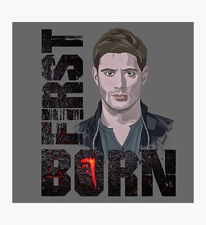 First Born Dean Winchester Photographic Print
