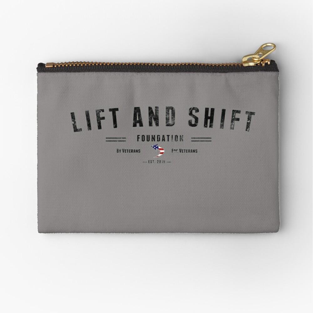 Lift And Shift Foundation EST 2018 Zipper Pouch