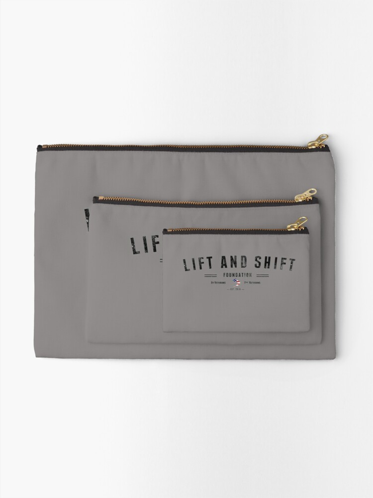 Alternate view of Lift And Shift Foundation EST 2018 Zipper Pouch
