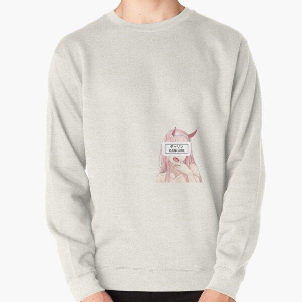 zero two  Pullover Sweatshirt