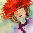 Red Hat Lady by Marita McVeigh
