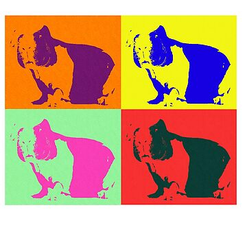 Skinny Pig Art, Warhol Pop Art Style by leeseylee
