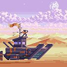 Stardust Desert  by Slynyrd