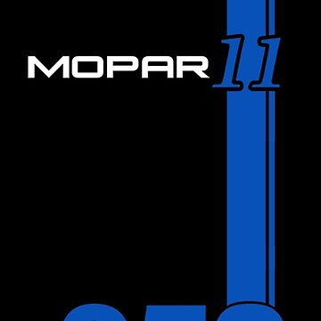 MOPAR 11 Stripe Custom with Your Car Number by drquest