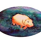 Space Hippo by Renee Rigdon
