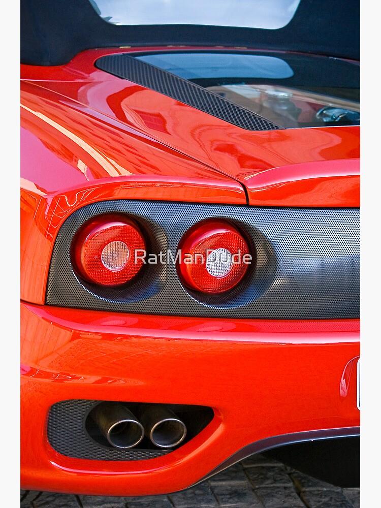 Ferrari 360 F1 Spider Tail Lights \u0026 Exhaust