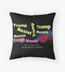 Trump Derangement Syndrome Throw Pillow