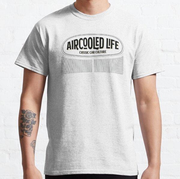 Aircooled Life - Classic Car Culture Oval Beetle design Classic T-Shirt