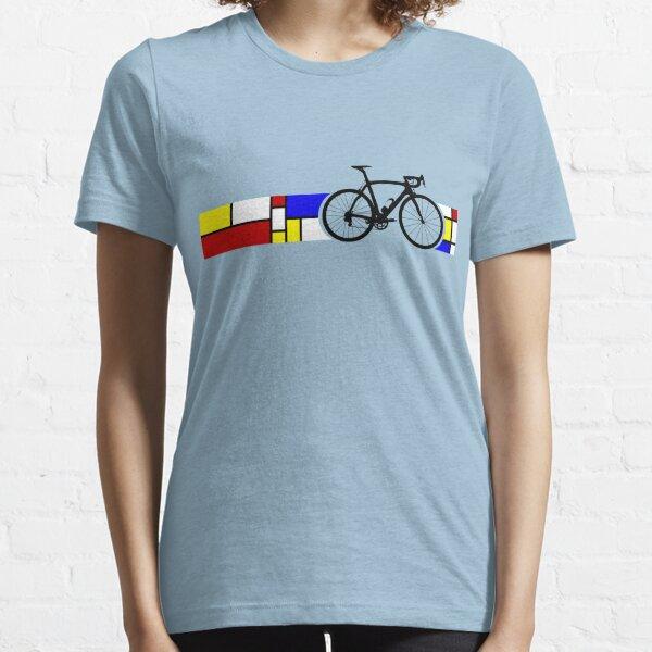 Bike Stripes Mondrian Essential T-Shirt