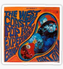west coast pop art experimental band Sticker