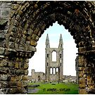 ST. ANDREWS SCOTLAND : Vintage Print by posterbobs