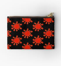 Blood Spatter by Chillee Wilson Studio Pouch