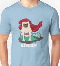 The Little Mer-Pug Unisex T-Shirt