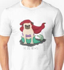 The Little Mer-Pug Unisex T-Shirt