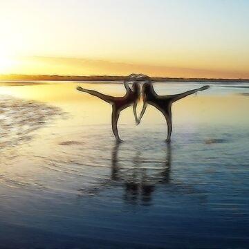 Sunset arabesque by SarahTrangmar