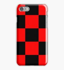 Red chess iPhone Case/Skin