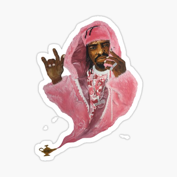 Genie of the Lamp Collectibles Sticker