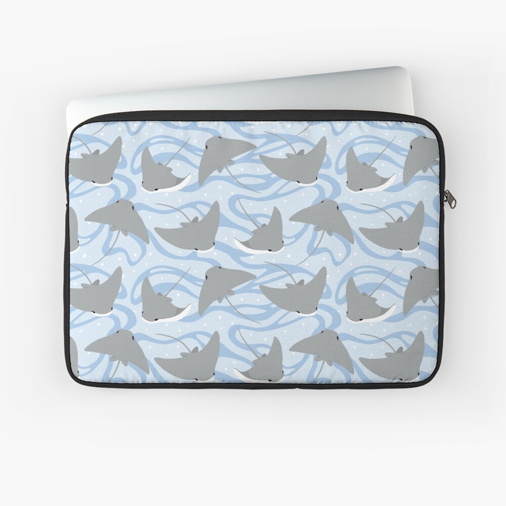 Stingrays - Cownose Ray - Sticker Pack Laptop Sleeve