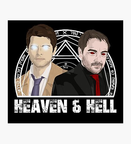 Heaven and Hell Photographic Print