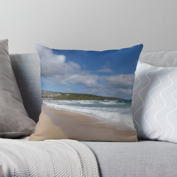 St Ives, Cornwall Throw Pillow