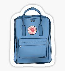 Fjallraven Kanken Backpack- blue Sticker