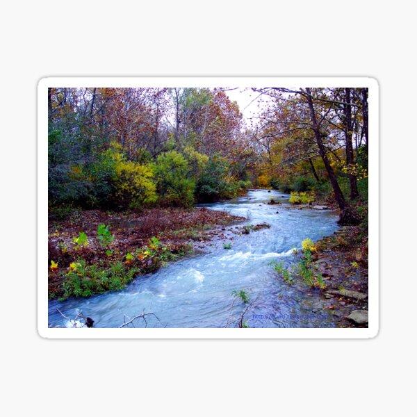 Arkansas Ozark Mountain Stream Sticker