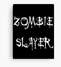 'Zombie Slayer' by Chillee Wilson Canvas Print