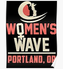 Frauenwelle 2019 in Portland, OR Poster