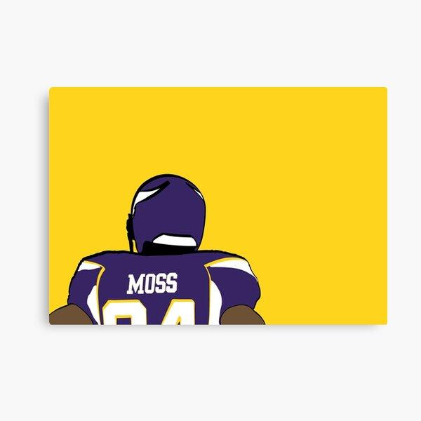 Randy Moss - Minnesota Vikings Canvas Print