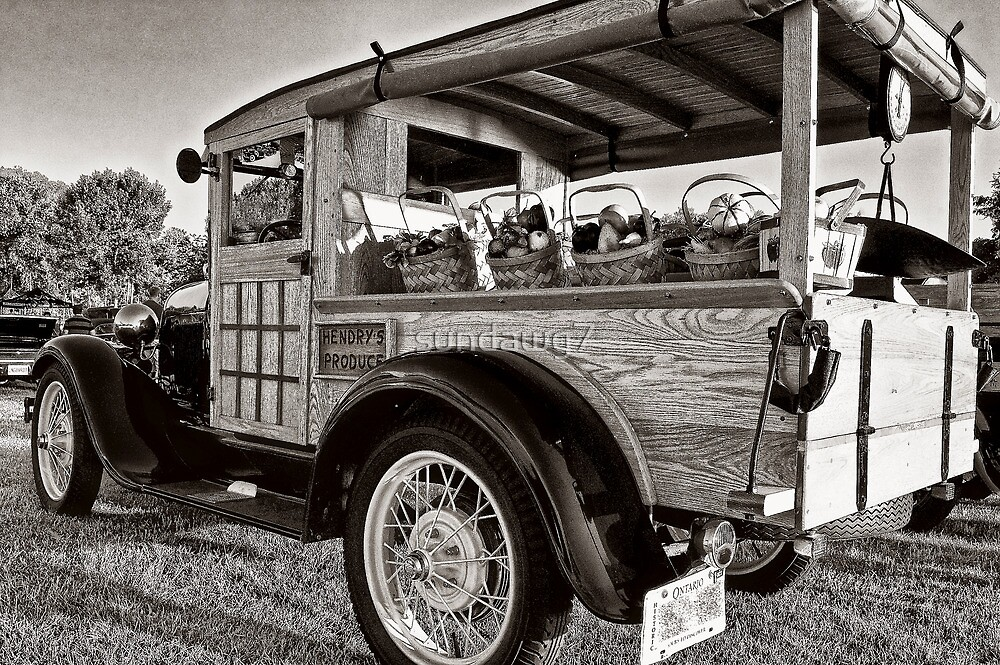 1929 Ford Huxter by sundawg7