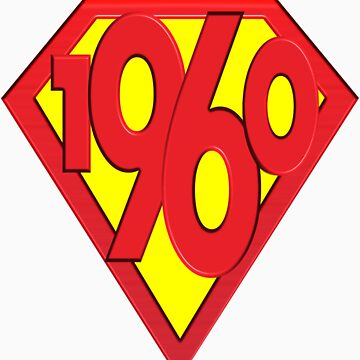 50th Birthday Gifts, Super 1960! by birthdaygifts