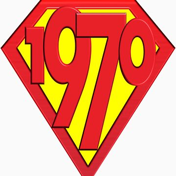 40th Birthday Gifts, Super 1970! by birthdaygifts