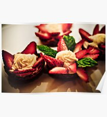 Strawberry Tart Poster