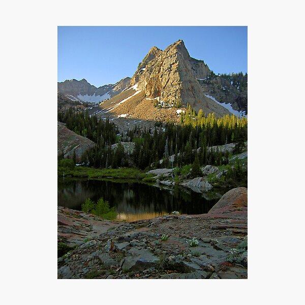 2004:06:22  07:52:15  Sundial Peak Photographic Print