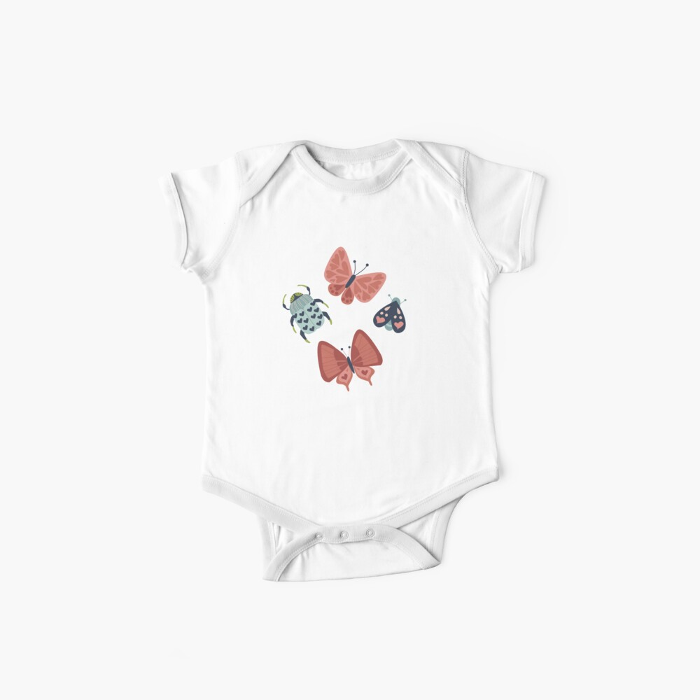 Love Bugs  Baby One-Pieces