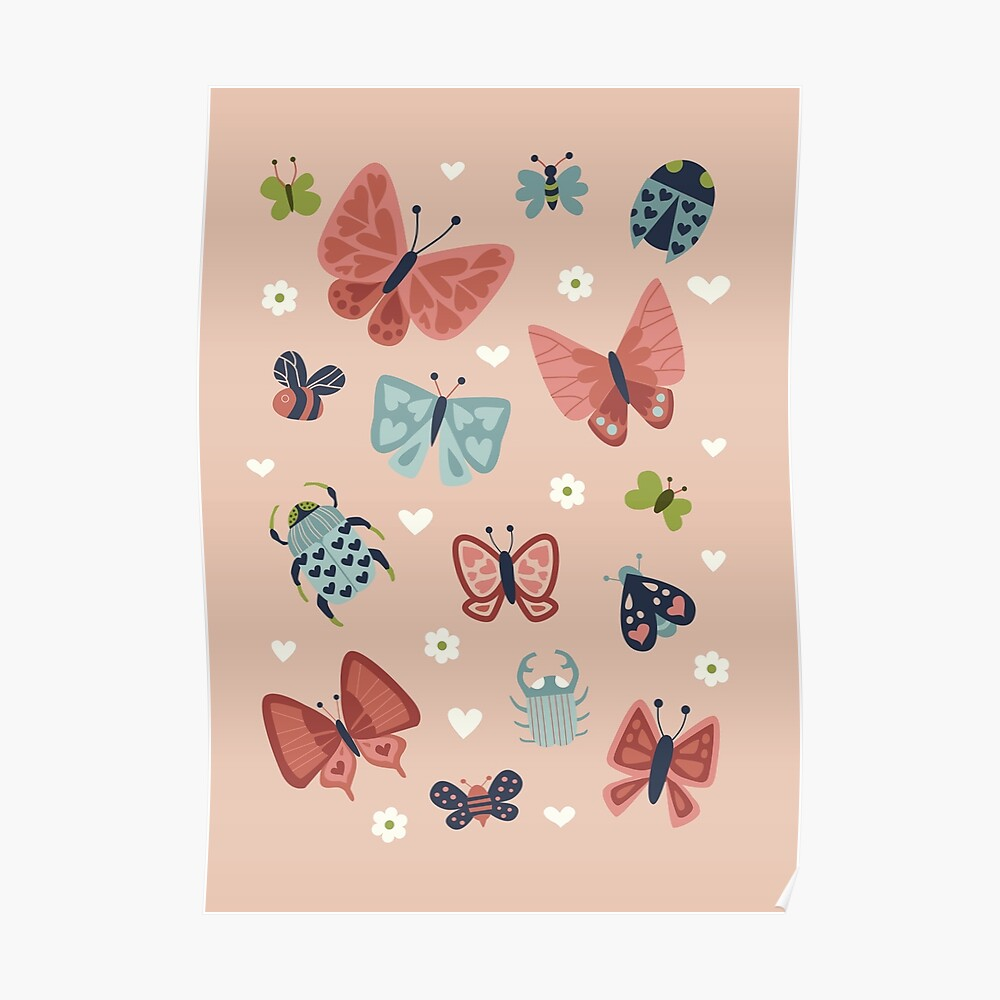 Love Bugs  Poster