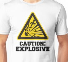 Caution: Explosive (Temper) Unisex T-Shirt