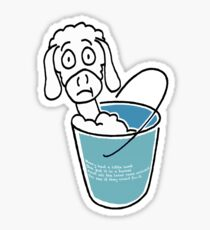 Mary Had A Little Lamb Sticker