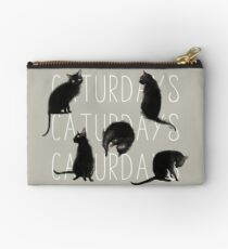 Caturdays - Black Cat Studio Pouch