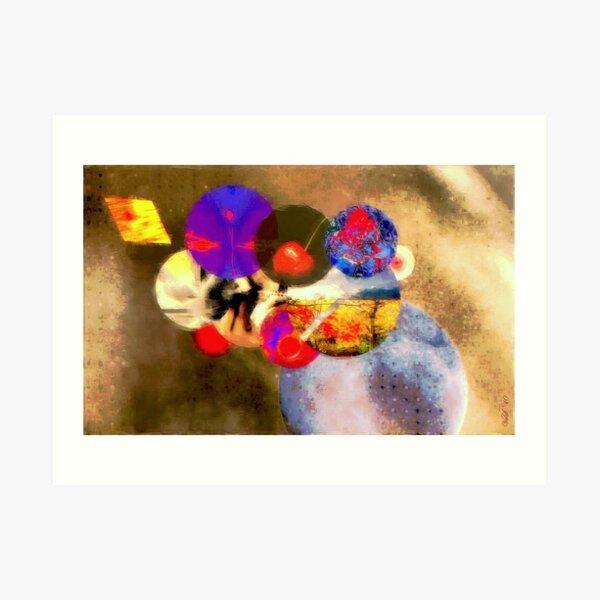 The attractiveness of globular cluster Art Print