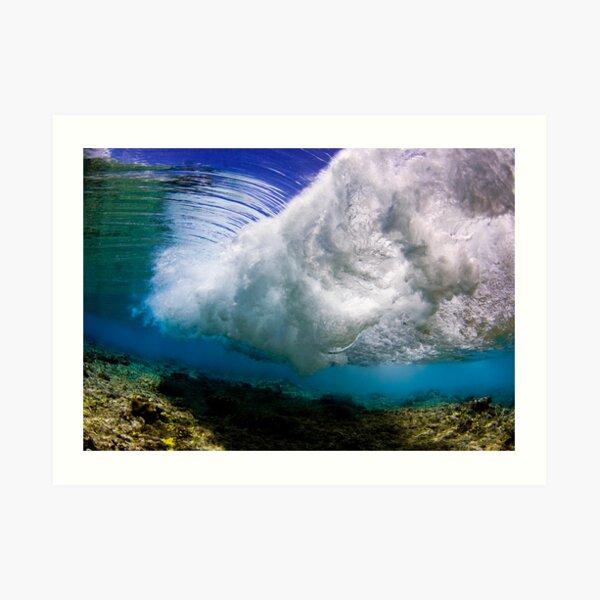 Underwater Storm Art Print
