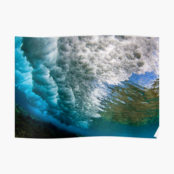 Underwater Storm Poster