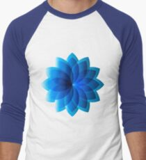 Abstract Digital Star Men's Baseball ¾ T-Shirt